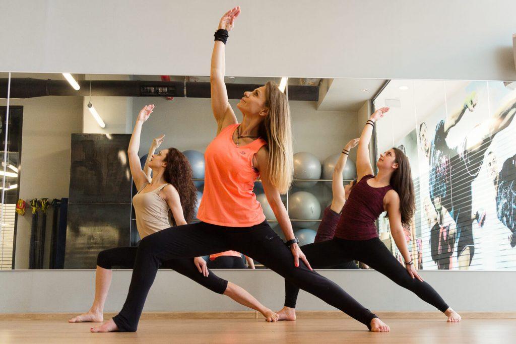 Power Yoga във фитнес Атлетик