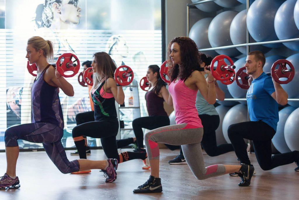 Пъмп тренировка във фитнес Атлетик