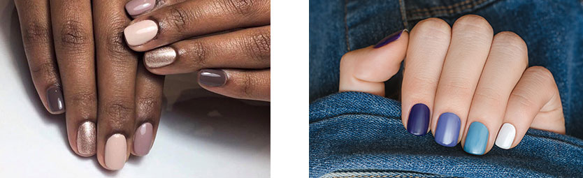 Nail-Bar-Plovdiv gradient manicure