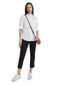 Бяла риза от магазин Tom Tailor