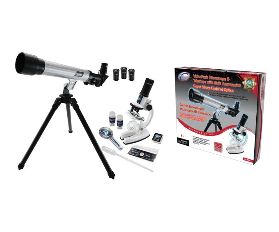 Комплект микроскоп с телескоп от магазин Комсед