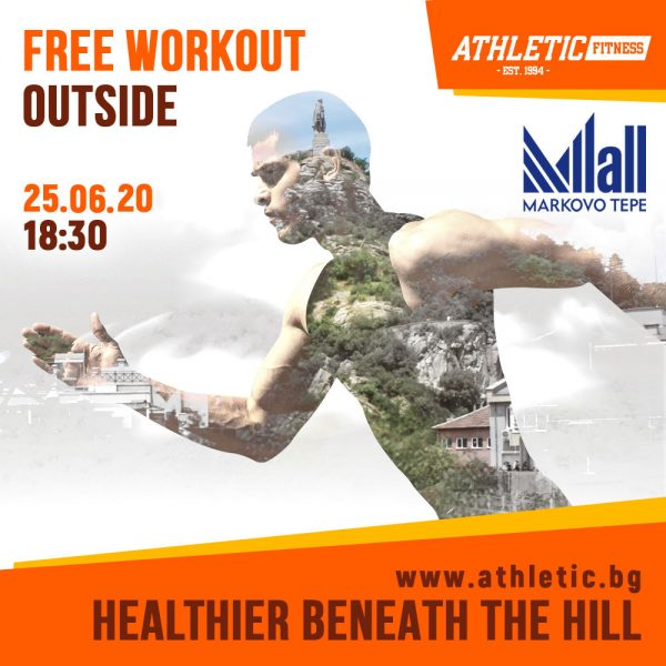 Free outdoor workout with Athletic Fitness