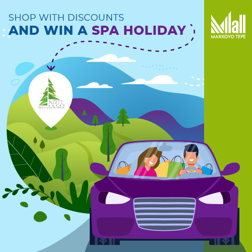 Shop with discounts and win a SPA holiday