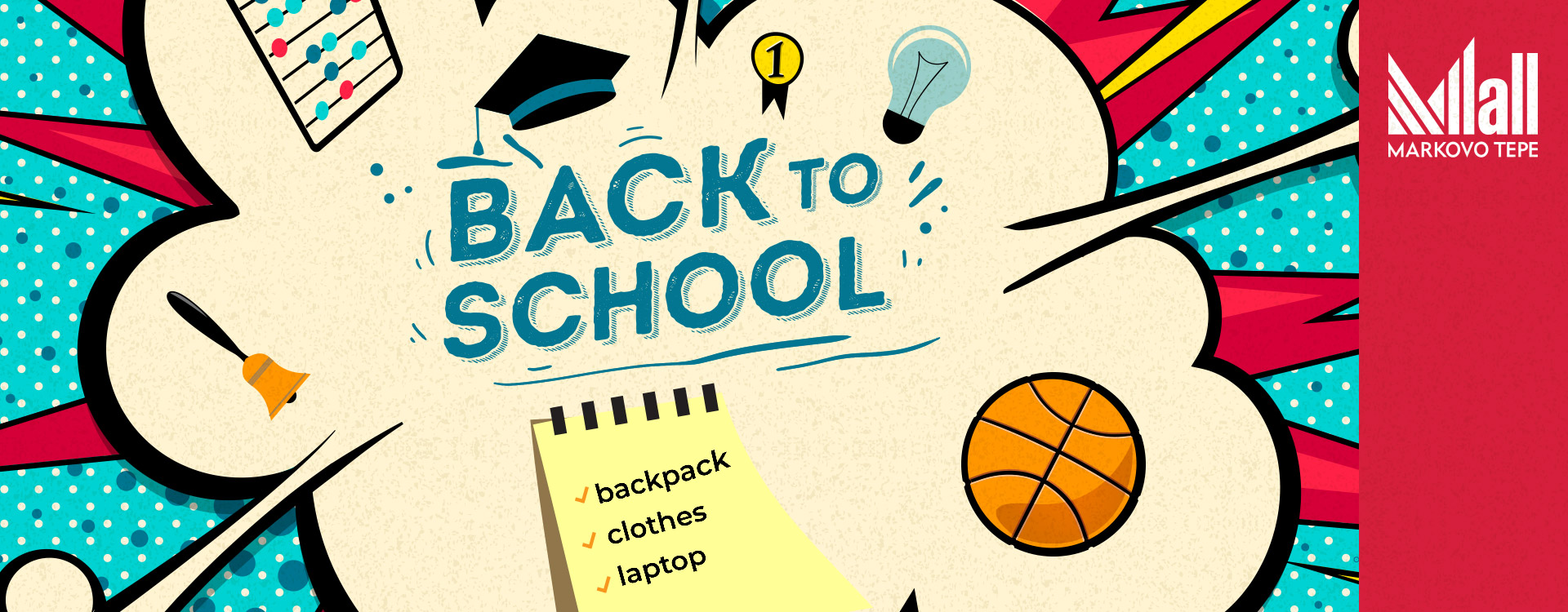 Back to school - Mall Markovo Tepe