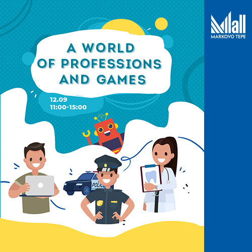A world of professions and games
