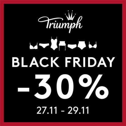 Black Friday в магазин Triumph