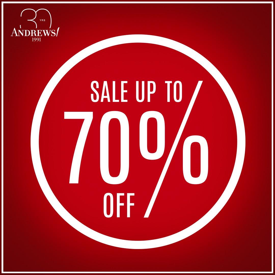 Andrews Season Sale до -70%
